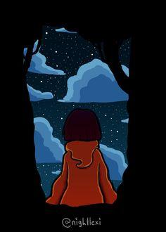 Stare into the sky~ by nightlexi.deviantart.com on @DeviantArt