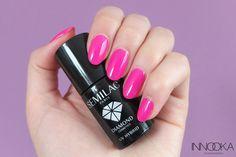 semilac 008 intensive pink-różowy hybrydowy Nail Polish, Lipstick, Nails, Pink, Beauty, Finger Nails, Lipsticks, Ongles, Nail Polishes