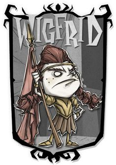 Wigfrid   Don't Starve Together Character Portraits