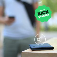Never lose your wallet again! When Wiseward is connected with your mobile, a special application takes care of it, armed with a bunch of smart features like the sound alarm signaling that the wallet has been lost or left behind. Available only 11 more days on Kickstarter http://baggizmo.me/kswiseward