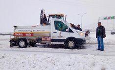 Onikişubat Belediyesi Yoğun Kar Yağışı Nedeniyle İş