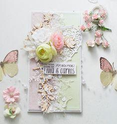 Crafty by AgnieszkaBe: ślubne Wedding Cards, Wedding Day, I Card, Crafty, Paper, Frame, Decor, Cards, Wedding Ecards