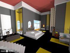 Roomstyler.com - ~bed n bath loft~