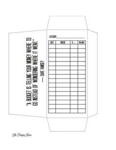 free cash envelope template cash envelope system free cash and