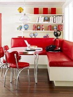 Love red!