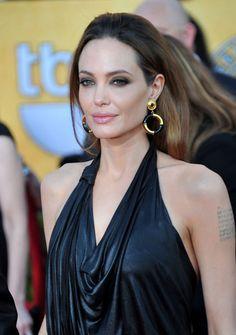 Angelina Jolie #hair #beauty