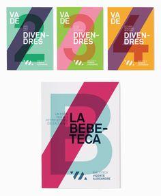 Work of Txell gràcia via Breanna Rose. Love the use of bold color combinations.