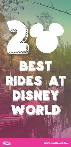 Need ideas for your upcomingDisney trip?! These rides are ones that you WONT want to miss!!