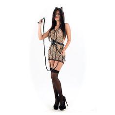 PICARESQUE - DISFRAZ GATITA LEOPARDO - Sex Frodisia Sex Shop http://www.sexfrodisia.com/disfraces/19723-picaresque---disfraz-gatita-leopardo.html