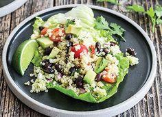 Quick Guacamole Quinoa Salad