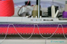 mero lugaa: knitting machine