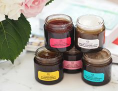 London Beauty Queen: Introducing The Body Shop's Five New Expert Superfood Face Masks (& Celebrating Their 40th Birthday)