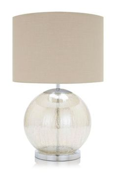 Large Mink Table Lamp from Next