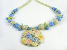 Salty Mermaid Necklace by TinaFrancisDesigns on Etsy, $50.00