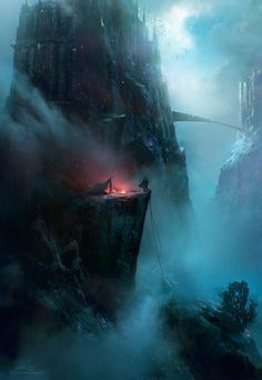 You have set up camp on the cliffside, when something in the fog below starts climbing your rope... #swm #eidolon #simulacrum