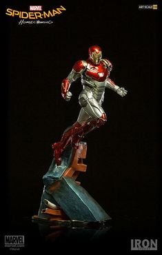 Iron Man statue from Spider-Man: Homecoming by Iron Studios