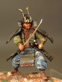 Samurai Samurai Tattoo, Samurai Art, Samurai Warrior, 3d Figures, Action Figures, Dungeons And Dragons Miniatures, Military Figures, Reference Images, Toy Soldiers