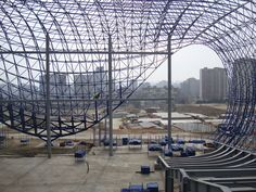 Under construction: Heydar Aliyev Cultural Centre by Zaha Hadid Architects