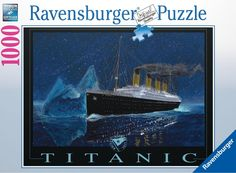 The Titanic: A 1000 piece jigsaw puzzle from Ravensburger.