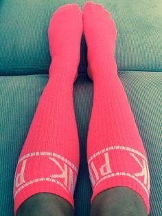 LOVE these vs Pink socks!!!