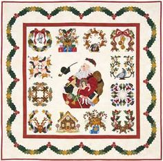 Baltimore Christmas Block of the Month Quilt