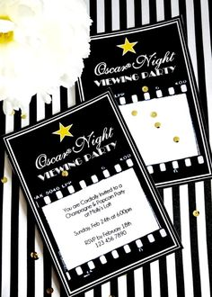 The 88th Academy Awards (aka the Oscars), are taking place on Sunday, February 28th this year, and we've been searching for the BEST glitz and glam ideas around! We made sure that they'd all be super easy to copy for your own Oscars viewing party at home.For us it's really an excuse to party in front [...]