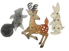 Awesome Etsy listing at https://www.etsy.com/pt/listing/176502535/woodland-animal-paper-dolls-deer-rabbit