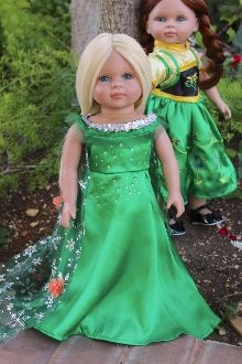 b. PRINCESS Spring Fever. Inspired by Elsa. DRESS.
