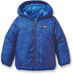 b91c6b7ff6d9 Patagonia Baby Reversible Puff-Ball Insulated Jacket - Infant Toddler Boys    Baby