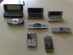 An interesting look at the evolution of Nokia's QWERTY devices.    The following products are missing: Nokia 9110, Nokia 9210, Nokia 9300i, Nokia E61i and Nokia E70. If anyone has any of the these devices and wants to donate them or sell them for a nom Viettel IDC | Co-location | Dedicated Server | Hosting | Domain | Vps | Email | Cloud Computing ...