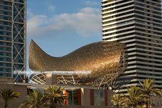 frank gehry fish sculpture - barcelona
