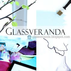 The website Glassveranda contains thousands of photos of great interior designs, DIY-projects and home decorating tips and ideas, -inspiration for your home and outdoor spaces! Welcome! :0)