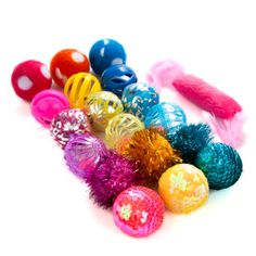 Grreat Choice™ 18-Pack Ball Cat Toys - PetSmart