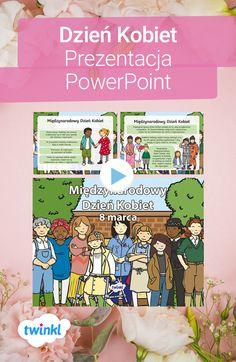 Prezentacja na Dzień Kobiet wyjaśni dzieciom, dlaczego to święto jest tak ważne - nawet w dzisiejszych czasach. Kliknij, by pobrać i odkryć tysiące materiałów dydaktycznych! #powerpoint #dzienkobiet #prezentacja #dzieńkobiet #8marca #święto #polska #szkoła #edukacja #podstawowa #przedszkole #twinkl #twinklpolska #materiały #dydaktyczne #pdf #zadarmo #darmowe #darmowa Comics, Free, Cartoons, Comic, Comics And Cartoons, Comic Books, Comic Book, Graphic Novels, Comic Art