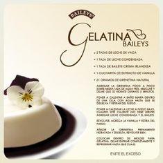 Gelatina de Baileys by ana luiza de lima santos