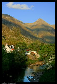 One of the Valley's of Kintail, Scotland where part of my heritage comes from :)