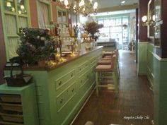 Tea room Living in London (Madrid)