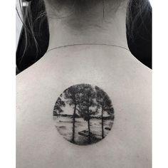 Minimalistic Tattoo By Zeke Yip - http://tattooideas22.com/minimalistic-tattoo-zeke-yip/