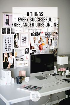 8 Essential Tips for Freelancers—the top things every freelance designer does online to meet success. Are you doing these things? Learn from the pros on the Redbubble blog and improve your independent business.