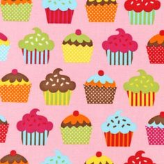 fabric rehab cupcakes
