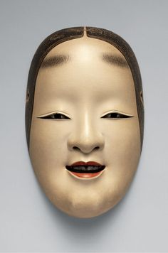 Mary Griggs Burke assembled an unparalleled collection of Asian art — more than one thousand Japanese, Chinese and Korean masterworks spanning five millennia — between 1963 and Samurai, Japanese Tattoo Designs, Japanese Design, Japanese Noh Mask, Mouth Drawing, Ceramic Mask, Edo Period, Anatomy Drawing, Cyberpunk Art