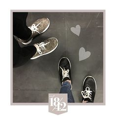 You know it's true friendship when you have the same taste in shoes  Who's your style sister?  #est1842 #est1842footwear #shoes #friends #sneakers #style #girls #truefriendship #stylesisters #shoelove #monday #tag #love