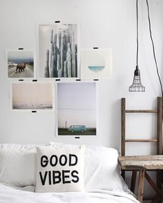 Good Vibes // Cool Home Decor // Wall Art