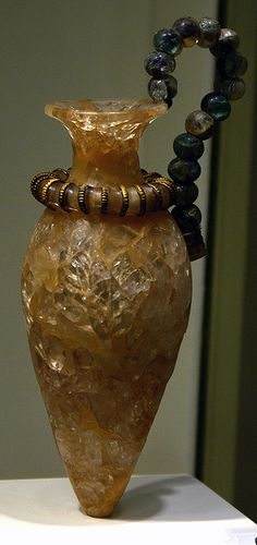 This little vase was relly impressive! It was found in Zakros Ancient Minoan Palace, dated to 17th-15th century BC!
