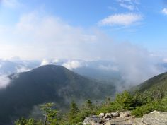 View from West Bond, toward Bondcliff in New Hampshire, courtesy Jim Dickey.