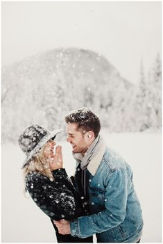 Eden Strader Photography, Big Cottonwood Canyon Engagements, Utah engagements, winter engagements, couple's snowball fight, snowy engagements, utah wedding photographer, destination wedding photographer, engagement pose ideas