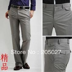 Free shipping! men suit pants male straight slim western-style trousers ,casual pants men