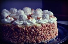 #cake #diy #home #made #homemade #raffaello #coconut #peanut #cream