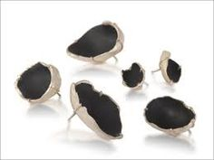 Hadas Levin JEWELLERY - Pesquisa do Google Back Holes I- Brooches Fine silver, enamel