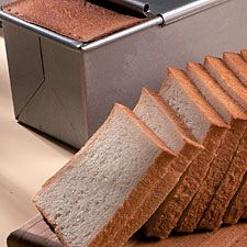 100% Whole Wheat Pain de Mie - my favorite sandwich bread recipe. don't worry about the milk and butter - it's worth the extra flavor! however, the sugar is unnecessary